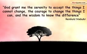 serenity to change